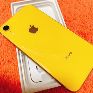 アイフォーン(iPhone)の新品未使用!iPhone XR イエロー 64GB SIMフリー(スマートフォン本体)