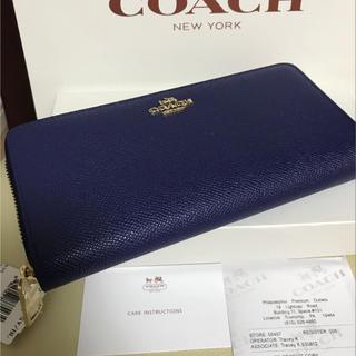 コーチ(COACH)のcoach長財布52372 正規品 新品 即日発送(財布)