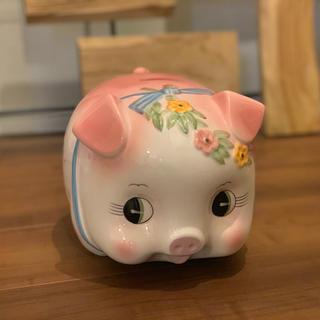 ぶたさんの貯金箱 特大サイズ(陶芸)