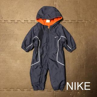 ナイキ(NIKE)のNIKEジャンプスーツ 70 ネイビー(ジャケット/コート)