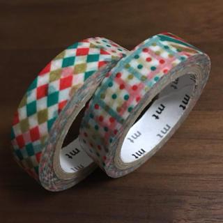 エムティー(mt)のmt クリスマス パターン マスキングテープ (テープ/マスキングテープ)