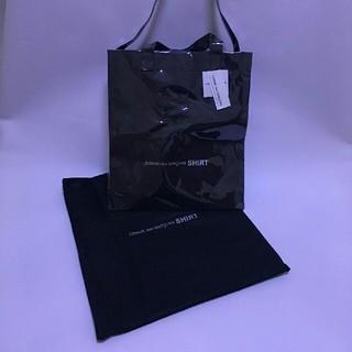 新品 コムデギャルソン シャツ PVCトートバッグ ショルダーバッグ