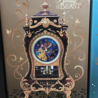 美女と野獣 動く時計(置時計)