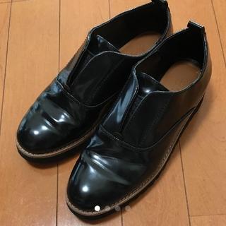 ザラ(ZARA)のZARA ザラ フラットシューズ 35(ローファー/革靴)