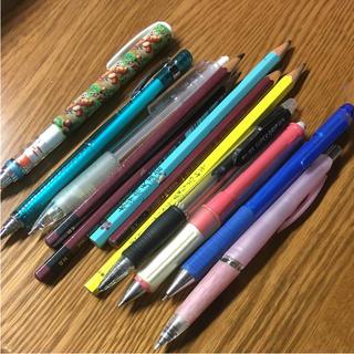 鉛筆、シャーペン 12本セット(鉛筆)
