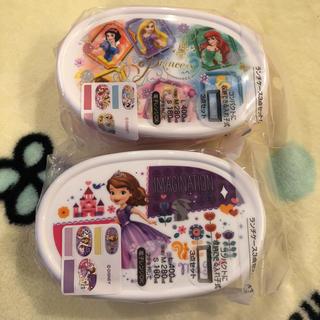 ディズニー(Disney)のDisney ランチケース3点セット ×2個セット(外出用品)