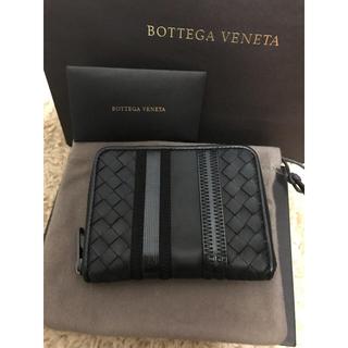ボッテガヴェネタ(Bottega Veneta)の【新品】ボッテガヴェネタ  折財布 ブラック2018モデル(折り財布)