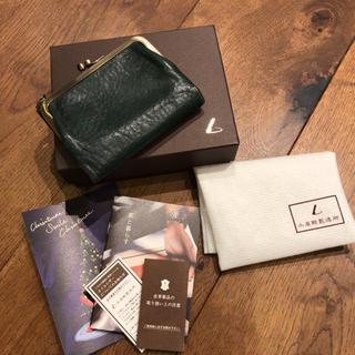 ツチヤカバンセイゾウジョ(土屋鞄製造所)の土屋鞄 がま口財布 限定カラー 値下げ(財布)