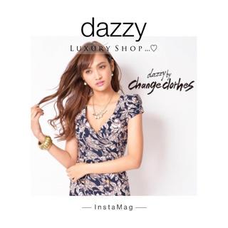 デイジーストア(dazzy store)の♡change dorhes by dazzy♡ミニワンピドレス♡(ミニドレス)