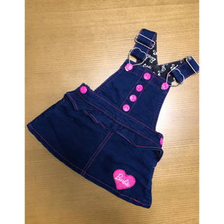 バービー(Barbie)のBarbie ジャンパースカート(スカート)