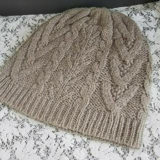 ティアラ(tiara)の新品*シュシュドママンニット帽(ニット帽/ビーニー)