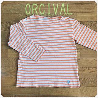 オーシバル(ORCIVAL)のORCIVAL バスクシャツ サイズ3(Tシャツ/カットソー(七分/長袖))