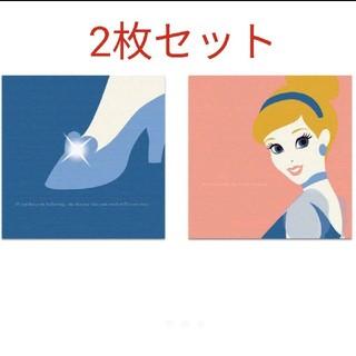 ディズニー(Disney)の新品 未使用☆ディズニーアートデリ ファブリックパネル シンデレラ 2枚セット☆(ファブリック)