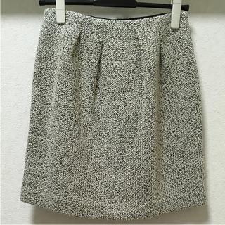 ストロベリーフィールズ(STRAWBERRY-FIELDS)のストロベリーフィールズ ウールタイトスカート(ひざ丈スカート)