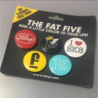エフエーティー(FAT)のFAT ピンバッチ ストリート ブランド スケート エフエーティー sk8(その他)