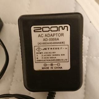 ズーム(Zoom)のZoom ACアダプター 楽器用品 専用(その他)
