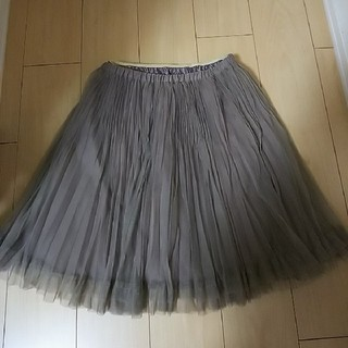 ティアラ(tiara)のTiara チュールスカート(ひざ丈スカート)