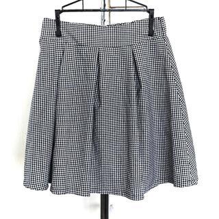 シネマクラブ(CINEMA CLUB)のCINEMA CLUB■白黒ギンガムチェック スカート■(ミニスカート)