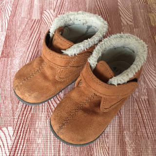 ムジルシリョウヒン(MUJI (無印良品))の無印良品☆ベビー キッズ ムートンブーツ 14センチ(ブーツ)