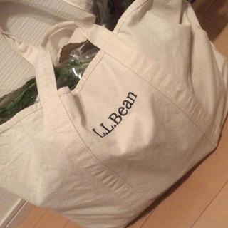 エルエルビーン(L.L.Bean)の新品未使用 LLビーン エコバッグ グローサリー バッグ llbean トート(トートバッグ)