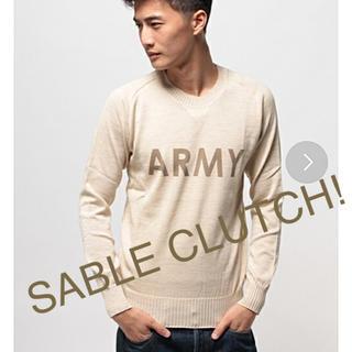 セーブルクラッチ(SABLE CLUTCH)のクルーネックセーター(ニット/セーター)