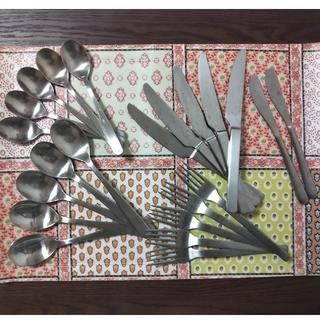 ムジルシリョウヒン(MUJI (無印良品))の無印良品 カトラリー4種×5セットおまけ付き(カトラリー/箸)