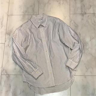 プラージュ(Plage)の新品  plage  ストライプシャツ  サイズ38(シャツ/ブラウス(長袖/七分))