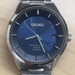 セイコー(SEIKO)の良品 セイコー スピリット SBTM209 電波 チタン  ソーラー (腕時計(アナログ))