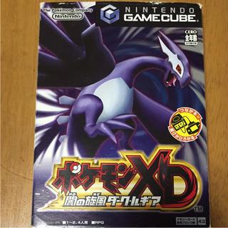 ニンテンドーゲームキューブ(ニンテンドーゲームキューブ)のゲームキューブ/ポケモンXD 闇の旋風 ダークルギア(家庭用ゲームソフト)