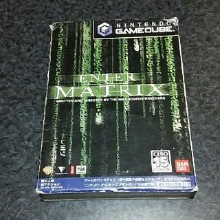 ニンテンドーゲームキューブ(ニンテンドーゲームキューブ)のゲームキューブ エンターザマトリックス(家庭用ゲームソフト)