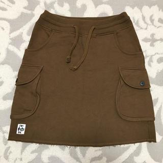 チャムス(CHUMS)の◆チャムス レディース ひざ丈スカート(ブラウン)◆(ひざ丈スカート)