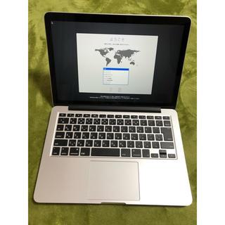 マック(Mac (Apple))のMacBook Pro Retina  13インチ MF839J/A 中古(ノートPC)