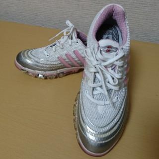 アディダス(adidas)のアディダス ゴルフ レディース シューズ  ピンク 23.5(シューズ)
