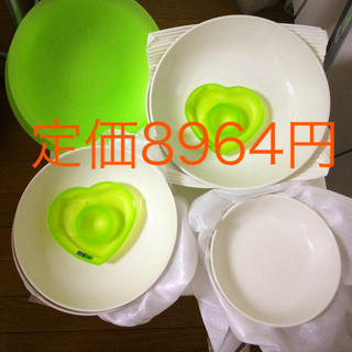 ムジルシリョウヒン(MUJI (無印良品))の無印良品 お皿 6点 ドイツ製 エッグカップ オマケ: グッチーニ お皿2枚(食器)