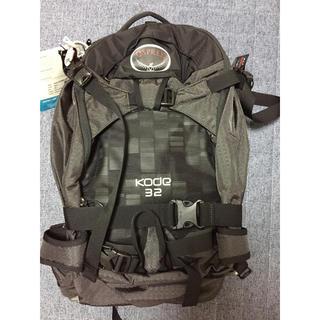 オスプレイ(Osprey)のOSPREY オスプレイ kode32 リュック ブラック バックカントリー(登山用品)