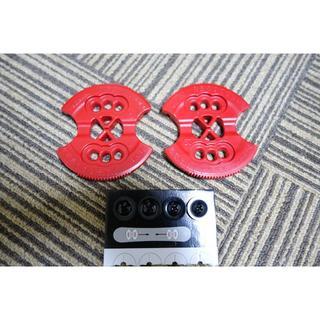 バートン(BURTON)の☆新品★BURTON スノーボード ESTディスクプレート 赤色(バインディング)