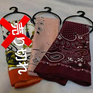 ジーユー(GU)のスカーフセット(バンダナ/スカーフ)