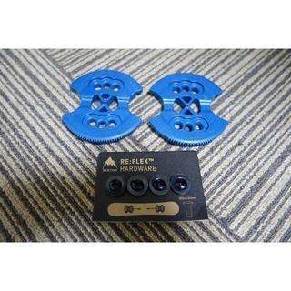 バートン(BURTON)の☆新品★BURTON スノーボード ESTディスクプレート 濃い青色(バインディング)