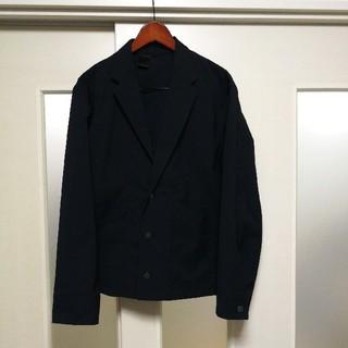 エヌハリウッド(N.HOOLYWOOD)のエヌハリウッド テーラードジャケット 18SS メンズ ネイビー サンプル 美品(テーラードジャケット)
