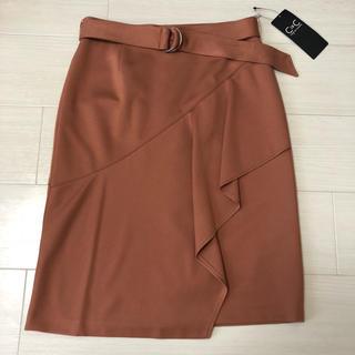 クードシャンス(COUP DE CHANCE)の新品タグ付き☆ クードシャンス スカート(ひざ丈スカート)