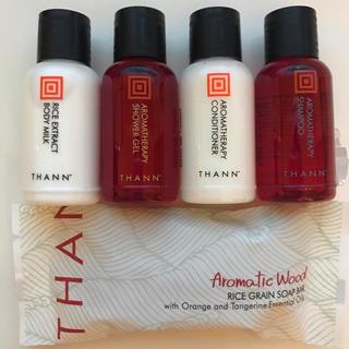 タン(THANN)の新品 THANN アメニティ5点セット(サンプル/トライアルキット)