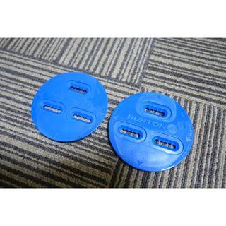 バートン(BURTON)の☆新品★BURTON スノーボード 3Dディスクプレート 青色 初期(バインディング)