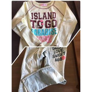 ディジーラバーズ(DAISY LOVERS)のデイジーラバートレーナー&ジーンズ 150(Tシャツ/カットソー)