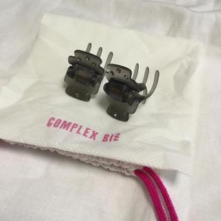 コンプレックスビズ(Complex Biz)のCOMPLEX BIZ ヘアクリップ 1、2回使用 (バレッタ/ヘアクリップ)
