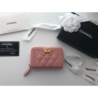 シャネル(CHANEL)の新品同様♡2018ssボーイシャネル ミニ財布♡国内正規品♡完売品(財布)
