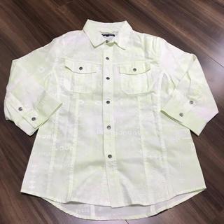 セマンティックデザイン(semantic design)の新品♡シャツ Sサイズ キミドリ セマンティックデザイン(Tシャツ/カットソー(半袖/袖なし))