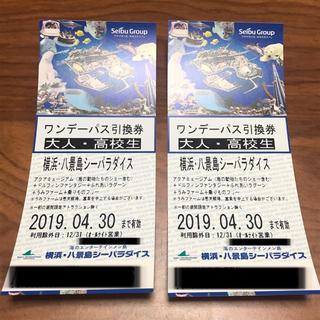 八景島シーパラダイス ワンデーパス チケット ペアチケット(水族館)