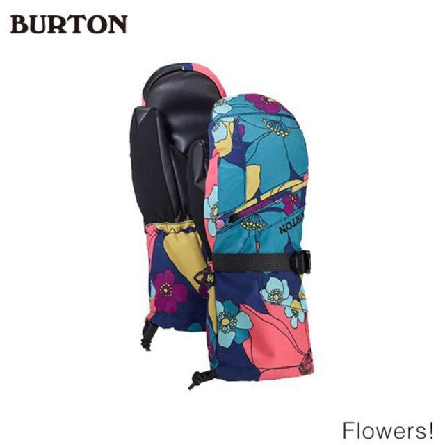 BURTON(バートン)のburton 19 バートン 新作 ミトン グローブ キッズ 子供 ガール スポーツ/アウトドアのスノーボード(ウエア/装備)の商品写真