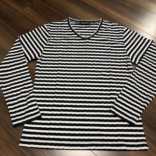 セマンティックデザイン(semantic design)の新品♡セマンティックデザイン ロンT Sサイズ ボーダー(Tシャツ/カットソー(七分/長袖))