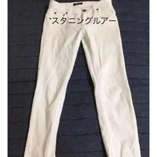 スタニングルアー(STUNNING LURE)のスタニングルアー 雑誌掲載 コーデュロイ パンツ ホワイト 白 ストレート 36(デニム/ジーンズ)